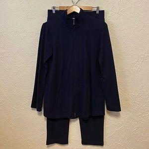 Pure Jill Navy Athletic Pantsuit